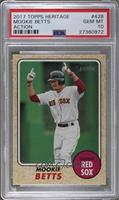 High Number SP - Mookie Betts (Action Image Variation) [PSA 10]