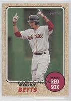 High Number SP - Mookie Betts (Action Image Variation)