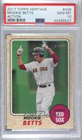 High Number SP - Mookie Betts (Pointing) [PSA10GEMMT]
