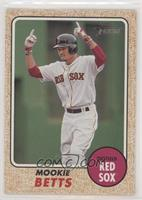 High Number SP - Mookie Betts (Pointing)