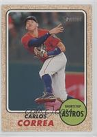 High Number SP - Carlos Correa (Action Image Variation)