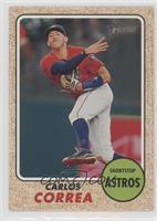 High Number SP - Carlos Correa (Action Image Variation)
