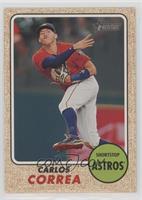 High Number SP - Carlos Correa (Throwing)
