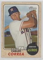 High Number SP - Carlos Correa (Color Swap Variation)