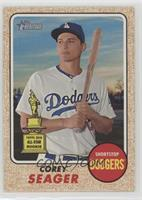 High Number SP - Corey Seager (Batting Pose)