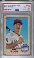 High Number SP - Mike Trout (Base) [PSA10]