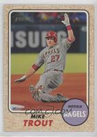 High Number SP - Mike Trout (Action Image Variation)