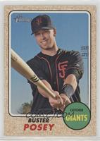 High Number SP - Buster Posey (Batting Pose)