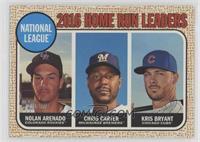 League Leaders - Chris Carter, Nolan Arenado, Kris Bryant
