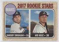 Rookie Stars - Dansby Swanson, Rio Ruiz