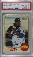 Pedro Baez [PSA/DNA Certified Encased]