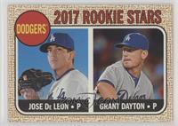 Rookie Stars - Grant Dayton, Jose De Leon