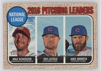 League Leaders - Max Scherzer, Jake Arrieta, Jon Lester