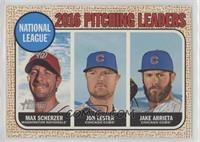 League Leaders - Max Scherzer, Jake Arrieta, Jon Lester