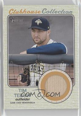 2017 Topps Heritage - Clubhouse Collection Relics #CCR-TT - Tim Tebow