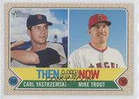 Mike Trout, Carl Yastrzemski