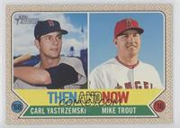 Mike Trout, Carl Yastrzemski