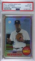 Luis Severino [PSA 10 GEM MT] #106/568