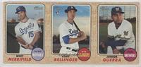 Whit Merrifield, Cody Bellinger, Junior Guerra [EXtoNM]