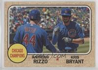 Anthony Rizzo, Kris Bryant