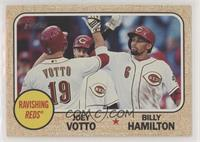 Billy Hamilton, Joey Votto