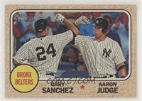 Aaron Judge, Gary Sanchez