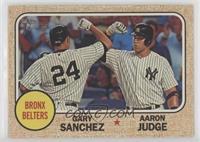 Aaron Judge, Gary Sanchez