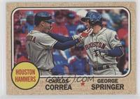George Springer, Carlos Correa