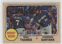 Domingo Santana, Eric Thames