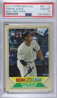 Aaron Judge [PSA 10 GEM MT]