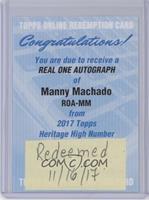 Manny Machado [REDEMPTIONBeingRedeemed]