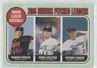 League Leaders - Anthony Vasquez, Chris Volstad, Parker French /50