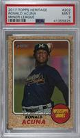 Short Prints - Ronald Acuna [PSA 9 MINT]