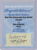 Blake Rutherford [REDEMPTION Being Redeemed] #/25