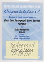 Blake Rutherford /25 [BeingRedeemed]