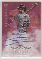 Rookie Autographs - David Dahl #/99