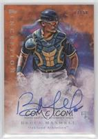Rookie Autographs - Bruce Maxwell #/50