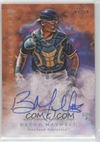 Rookie Autographs - Bruce Maxwell /50