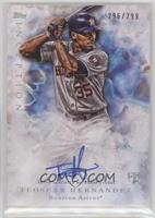 Rookie Autographs - Teoscar Hernandez #/299