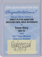Trevor Story /199 [REDEMPTION Being Redeemed]