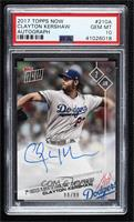 Clayton Kershaw [PSA 10 GEM MT] #/99