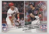 Mike Trout, Ryan Zimmerman /356