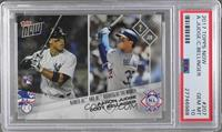 Aaron Judge, Cody Bellinger [PSA 10 GEM MT] #/1,751