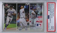 MLB Players Raise Awareness On Father's Day [PSA9MINT] #/827