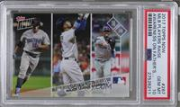 MLB Players Raise Awareness On Father's Day [PSA10GEMMT] #/827
