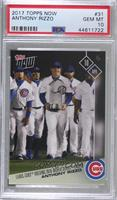 Anthony Rizzo [PSA10GEMMT] #/1,361