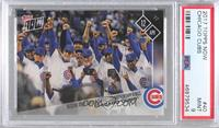 Chicago Cubs Team [PSA 9 MINT] #/1,809