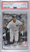 Aaron Judge /2163 [PSA 10 GEM MT]