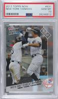 Aaron Judge, Greg Bird /569 [PSA 10 GEM MT]