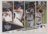 b9616e37 Los Angeles Dodgers, Houston Astros /1141. 2017 Topps Now ...